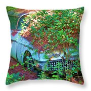 Devine Two Throw Pillow