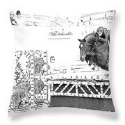 Devon Jumper  Throw Pillow