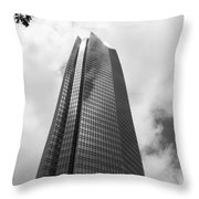 Devon Tower In Okc Throw Pillow