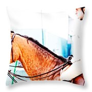 Devon Waiting Throw Pillow