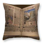 Devotional Book Throw Pillow