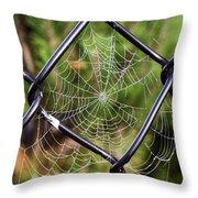 Dew Drop In  Throw Pillow