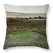 Dew In The Morning Throw Pillow