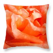 Dew Soaked Folklore Throw Pillow