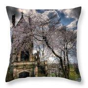 Dexter Mausoleum Throw Pillow