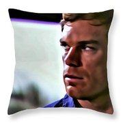 Dexter Morgan Throw Pillow