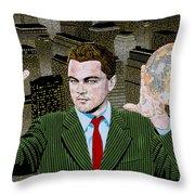 Di Caprio  Throw Pillow
