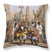 Dia De Reyes, Cuba Throw Pillow