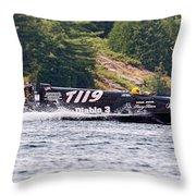 Diablo 3 Speedboat Throw Pillow