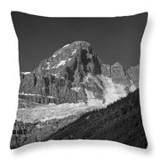1m3728-bw-diadem Peak Throw Pillow