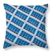 Diagonal View Throw Pillow