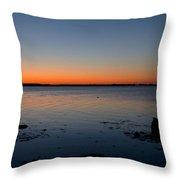 Dialing Up Dawn Throw Pillow