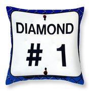 Diamond 1 Throw Pillow