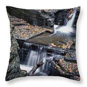 Diamond Falls Throw Pillow