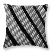 Diamond Fence Throw Pillow