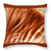Diamond Fork Red Rock 010 Throw Pillow