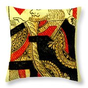 Diamond Geezer Throw Pillow