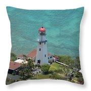 Diamondhead Lighthouse Throw Pillow
