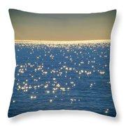 Diamonds On The Ocean Throw Pillow