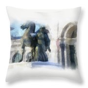 Dianaart Throw Pillow