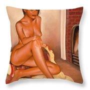 Diane  - I - Throw Pillow
