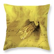 Diary Of A Buttercup Soft Throw Pillow