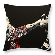 Diaz V Condit Throw Pillow