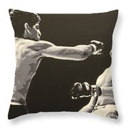 Diaz V. Gomi Throw Pillow