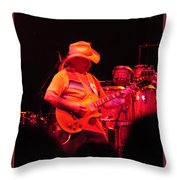 Dickey Betts Jammin Throw Pillow