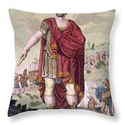 Dictator, 1796 Throw Pillow