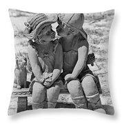 Did I Ever Tell You Throw Pillow