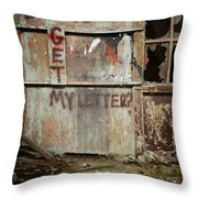Did You Get My Letter? Throw Pillow