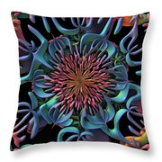 die Blume - the Flower Throw Pillow