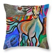 Died For Love Throw Pillow