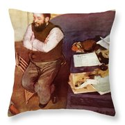 Diego Martelli  Throw Pillow