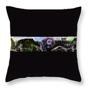 Different Tales Different Scenes Throw Pillow