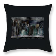 Differentiate New York City Throw Pillow