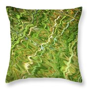Difficult Times Throw Pillow