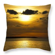 Diffused Light Throw Pillow
