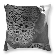 Digitalis From The Excelsior Mix Throw Pillow