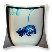 Diluted Throw Pillow