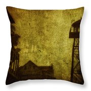 Diminished Dawn Throw Pillow