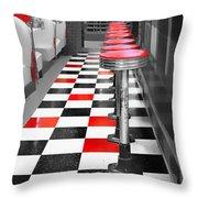Diner - 1 Throw Pillow