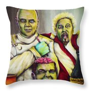 Diners Drive-ins And Fava Beans And Chianti Throw Pillow