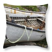Dinghies Throw Pillow