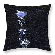 Dingle Quay By Night Detail 2 On The Wild Atlantic Way Of Western Ireland Throw Pillow