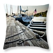 Dingy Throw Pillow
