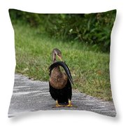 Dinner For One Throw Pillow