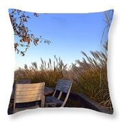 Dinner In The County Throw Pillow