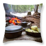Dinner Is Ready Throw Pillow